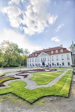 Barokowy Pałac W Nieborowie - Francuski Ogród - Nieborów