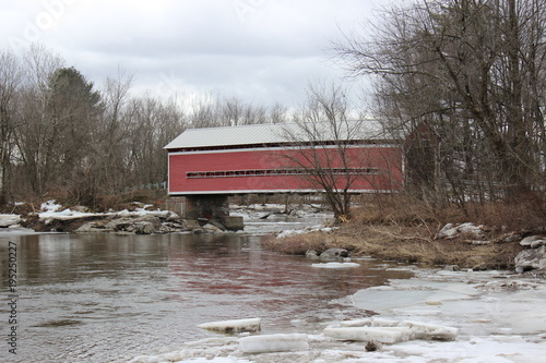 Photo Balthazar Covered Bridge in Brigham, Quebec
