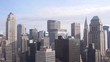 Impressive NY City Skyline From Above - Static