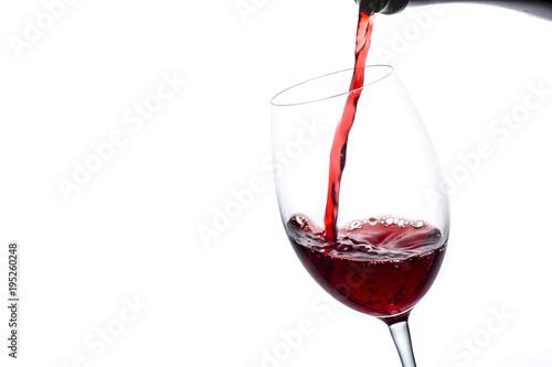 Stampa su Tela 赤ワインを注ぐ