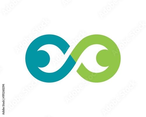 Fotografie, Obraz  Infinity business logo