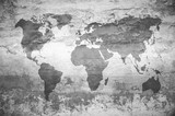 mapa świata. - 195274831