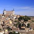 View of Toledo in Spain
