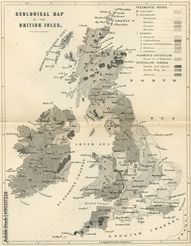 Map Of Uk 1800.Vintage Map Of Great Britain Early 1800 Antique Maps Of The World