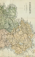 Antique Map Of Ireland - Early...