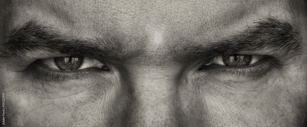 Fototapety, obrazy: man's eyes