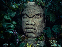 Olmec Sculpture Carved From St...