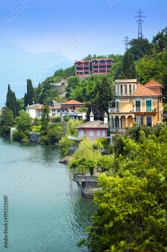 Lake Como, Italy Fototapet
