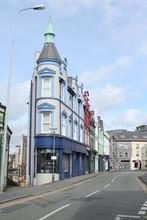 Cityscape In Caernarfon, North...