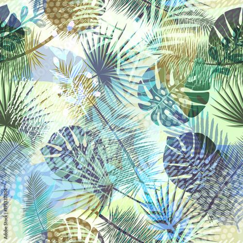 kolorowy-modny-bezszwowe-egzotyczny-wzor-z-tropikalnych-roslin-i-recznie-rysowane-tekstury-nowoczesny-projekt-abstrakcyjny-dla-papieru