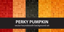 Houndstooth Pattern Set Perky ...