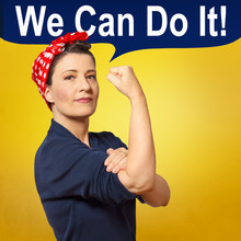 Rosie Riveter We Can Do It