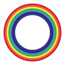 Abstract  Rainbow Cartoon On  ...