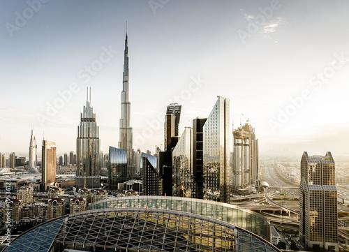 Fotografie, Obraz  Dubai downtown skyline