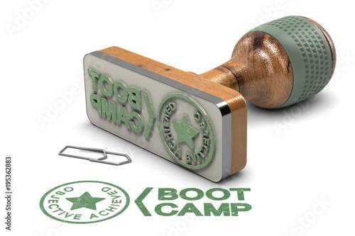 Fotografie, Obraz  Boot Camp Concept