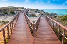 Zwei Wege Zum Strand