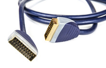 Black Scart Cable For Televisi...