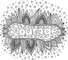 Coloring Page For Adults With ...