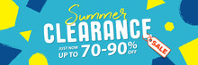 Summer Clearance 70 To 90 Perc...
