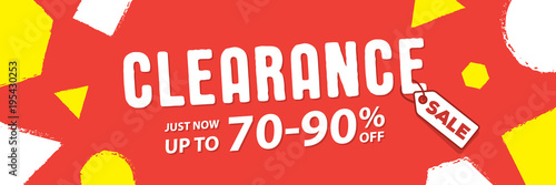 Fotografía  Clearance 70 to 90 percent off Banner vector heading design fun style for banner or poster