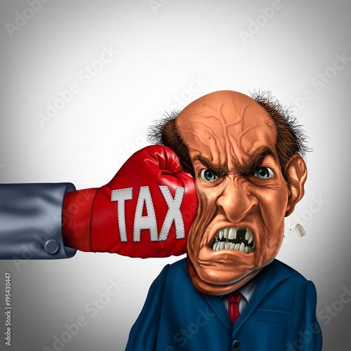 Fotografía Painful Tax