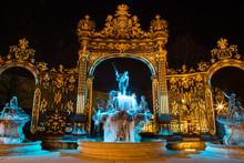 La Fontaine De Neptune De La P...