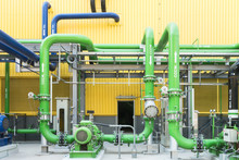 Colorful Industrial Piping Or ...
