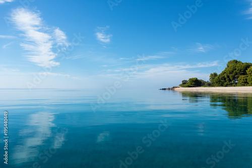 Keuken foto achterwand Meer / Vijver Amazing scenery by the sea in Sithonia, Chalkidiki, Greece