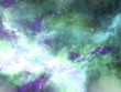Abstract hubble like space fractal, digital artwork for creative graphic design