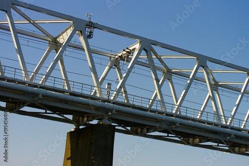 Papiers peints Les vieux bâtiments abandonnés 多摩川に架かる鉄橋