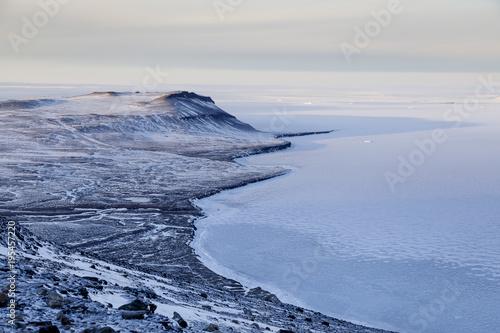 Valokuvatapetti Arctic Coastline