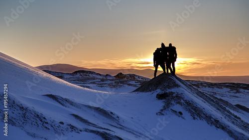 Valokuvatapetti Arctic Sunset