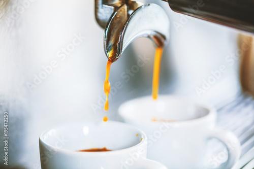 Plakat Przygotowanie espresso
