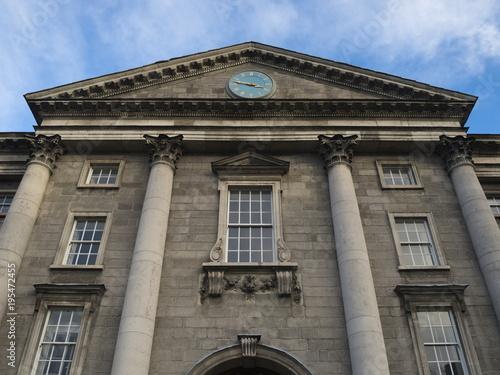 Zdjęcie XXL Dublin College, główne wejście w College Green, Irlandia