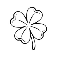 Clover Four-leaf Contour. St. ...