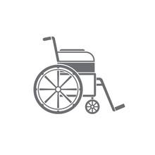 Wheelchair Icon. Medical Icon....