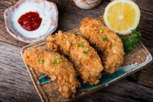 Crispy Chicken Tenderloid Deep...