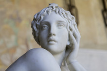 Marble Sculpture Of Beautiful ...