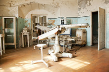 Old Abandoned Surgical Room An...