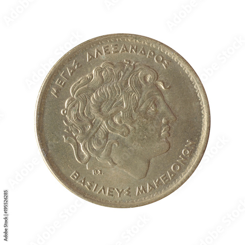 Poster  Obverse of vintage 100 Drachma coin made by Greece 1994