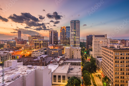 obraz lub plakat Birmingham, Alabama, USA Cityscape