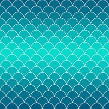 Texture Of Fish Scales. Backgr...