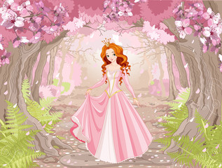 Beautiful Red Haired Princess