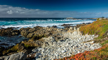 Ocean Near Pebble Beach, Pebble Beach, Monterey Peninsula, California, USA