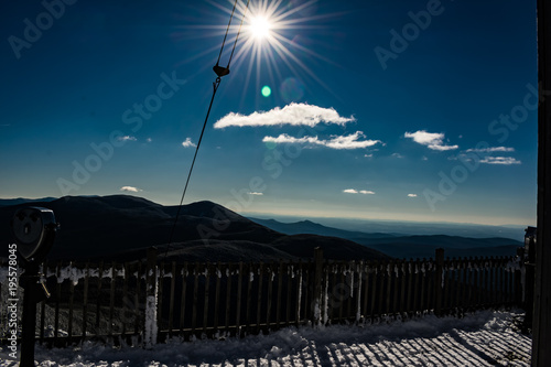 Fotografie, Obraz  Cannon Mountain in Franconia, NH via Hi-Cannon, Kinsman Ridge, and Lonesome Lake