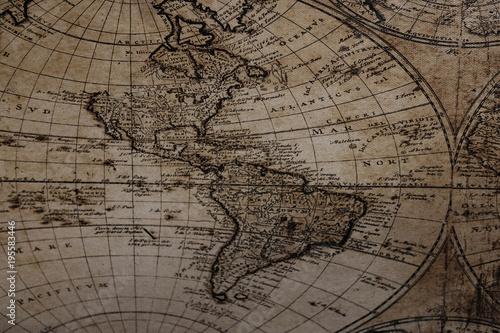 Staande foto Noord Europa antique decorative globe