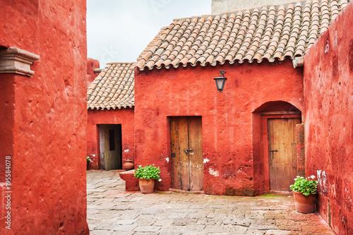Fotografía  Santa Catalina monastery in Arequipa, Peru