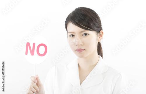 Fotografie, Obraz  NO・白衣の女性