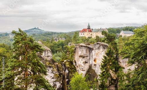Czechy - Park krajobrazowy Hruboskalsko Fototapet