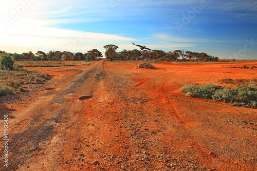 Foto op Canvas Baksteen Forrest, an outback Australian town